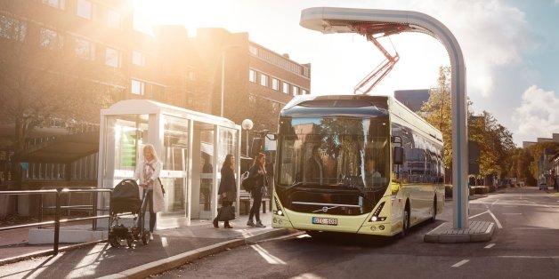 Bagger, Busse und Co.: So will Volvo unsere Städte grüner und sauberer machen