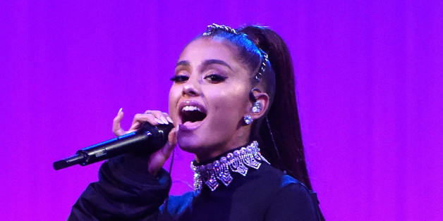 NEW YORK, NY - FEBRUARY 23:  Ariana Grande performs onstage during her 'Dangerous Woman' tour at Madison Square Garden on February 23, 2017 in New York City.  (Photo by Kevin Mazur/Getty Images for Republic Records)