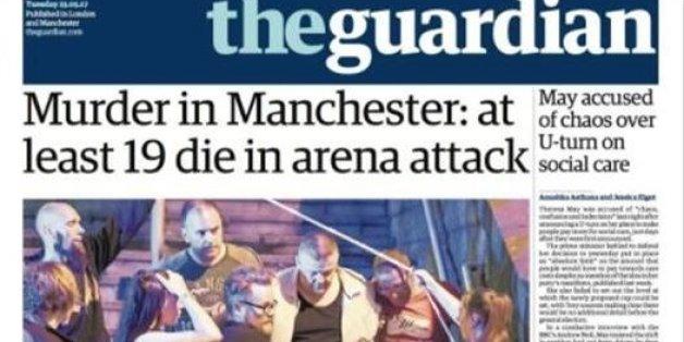 Les unes de la presse britannique après l'attentat de Manchester