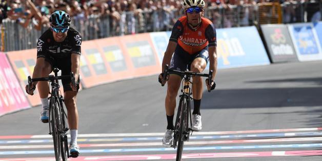 17. Etappe der Giro d'Italia am Mittwoch online sehen, so geht's