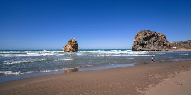 Moscarda beach. Marsa Ben M'hidi, Tlemcen, Algeria.