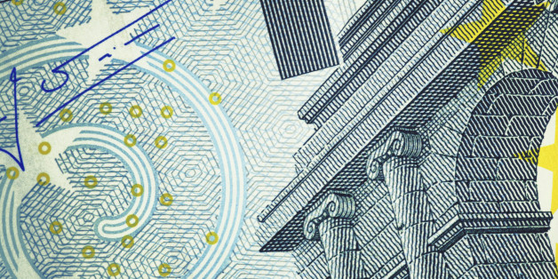 Close-up of Five Euro Banknote. High resolution photo taken with Canon 5D Mark II and Sigma lens.