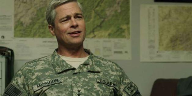 """<a rel=""""nofollow"""" href=""""http://www.isnottv.com/cast/0000093"""" target=""""_blank"""">Brad Pitt</a> soll als Spezial-Mann den Krieg in Afghanistan beenden. Er meint, Politik ist der Schlüssel. """"<a rel=""""nofollow"""" href=""""http://www.isnottv.com/movie/war-machine-2017"""" target=""""_blank"""">War Machine</a>"""" ist neu auf Netflix."""