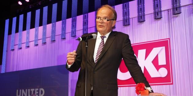 Der ehemaliger Berater Helmut Kohls, Andreas Fritzenkötter, ist beim deutschen Medienpreis vom Balkon gestürzt