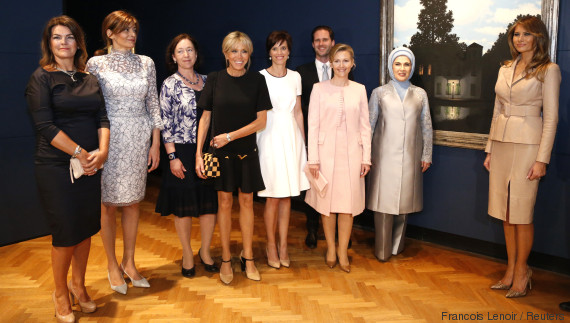 nato first ladies