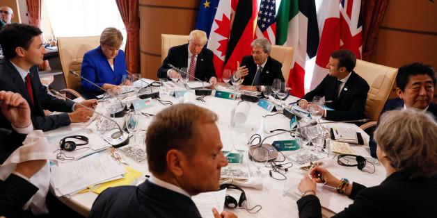 In Sizilien sprechen die G7-Staatschefs über Freihandel und Sicherheit - der größte Aufreger könnte aus Großbritannien kommen