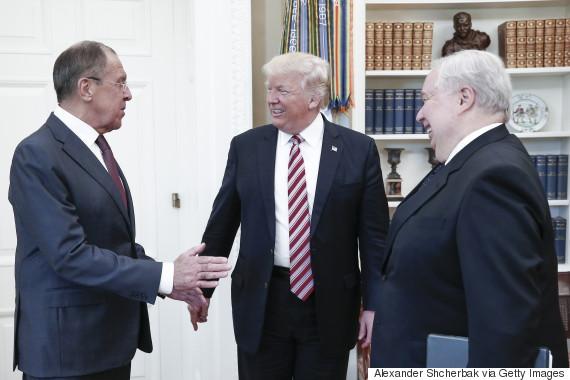 trump russia white house