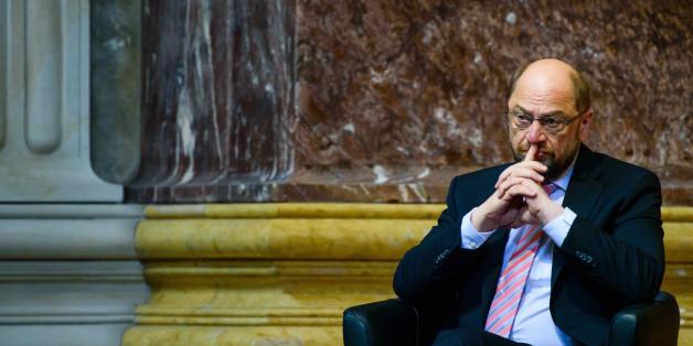 Martin Schulz befindet sich im Sturzflug