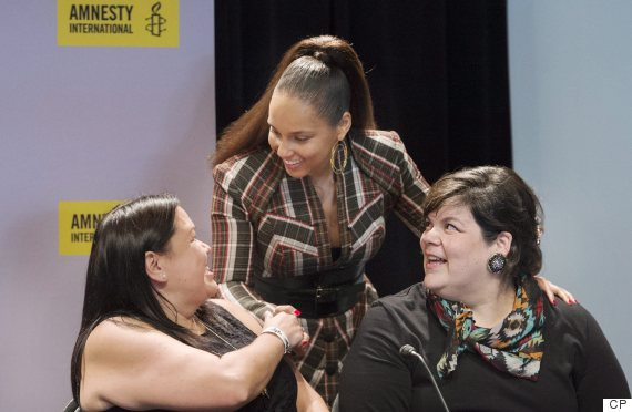 alicia keys idle no more canada