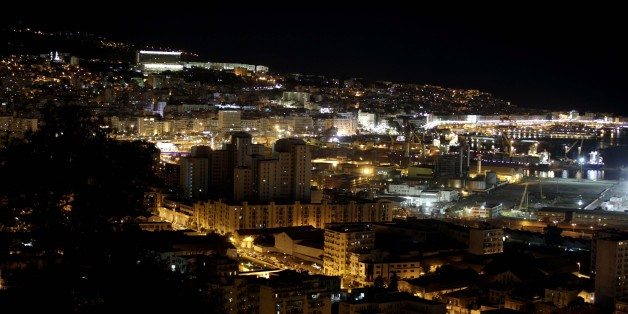 View of Algiers by night, Algiers on November 25, 2016. (Photo by Billal Bensalem/NurPhoto via Getty Images)
