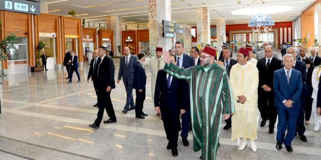 Le roi inaugure le nouveau terminal de l'aéroport de Fès