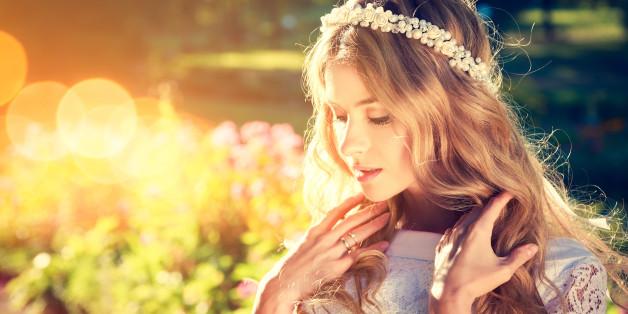 Manche Braut trägt auch etwas Altes - das ist Tradition