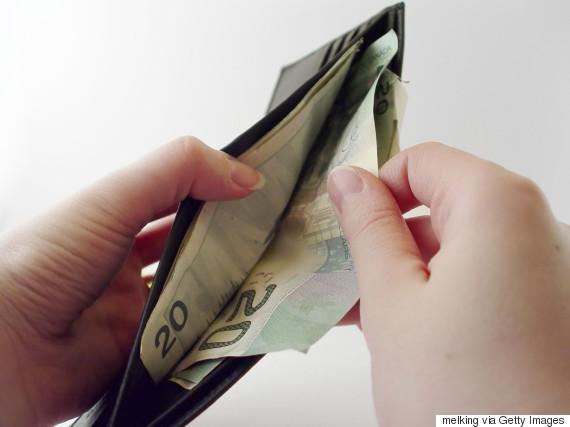 canadian dollars wallet