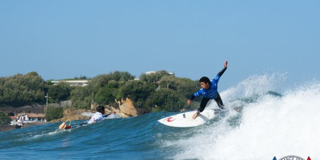 "L'équipe nationale marocaine a su s'imposer lors du ""World Surfing Games""."