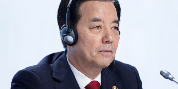 Han Min-Koo, South Korea's defense minister, attends the IISS Shangri-La Dialogue Asia Security Summit in Singapore, on Saturday, June 4, 2016. The annual Shangri-La Dialogue brings together ministers alongside heads of military, and has become a lightning rod for tensions over China's military buildup in the South China Sea, one of the world's busiest shipping lanes. Photographer: Nicky Loh/Bloomberg via Getty Images