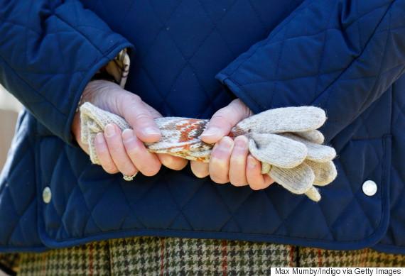 queen elizabeth hands