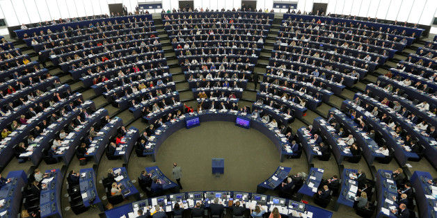 Members of the European Parliament take part in a voting session on a resolution about Brexit priorities and the upcomming talks on the UK's withdrawal from the EU at the European Parliament in Strasbourg, France, April 5, 2017.  REUTERS/Vincent Kessler