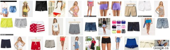shorts for girls canada
