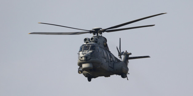 A Turkish Air Force AS-532AL Cougar helicopter takes off from Incirlik airbase in the southern city of Adana, Turkey, July 27, 2015. Kurdish fighters in northern Syria accused the Turkish army of shelling their positions on Monday, highlighting the precarious path Ankara is treading as it simultaneously battles Islamic State in Syria and Kurdish insurgents in Iraq. Long a reluctant member of the U.S.-led coalition against Islamic State, Turkey last week made a dramatic turnaround by granting the alliance access to its air bases and bombarding targets in Syria linked to the jihadist movement. REUTERS/Murad Sezer