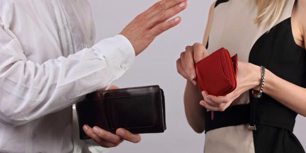 남녀간의 데이트에 있어 비용 분담과 기대