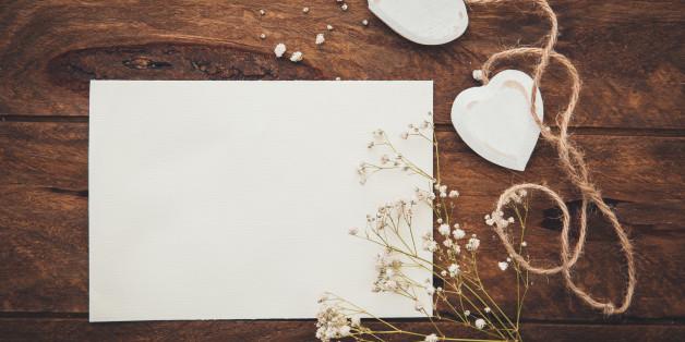 Den richtigen Spruch für die Hochzeitskarte finden ist nicht schwer