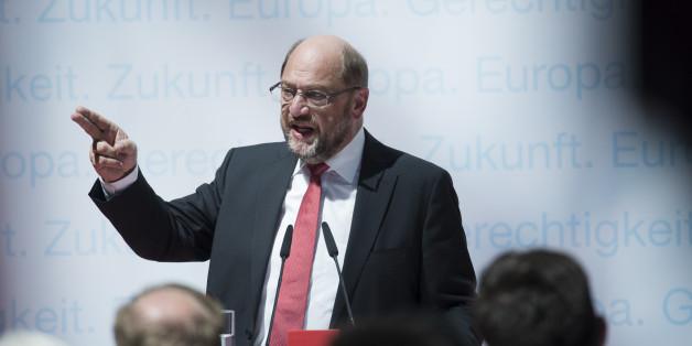 Martin Schulz stellt sein Sicherheitsprogramm vor – und irritiert mit einem Satz