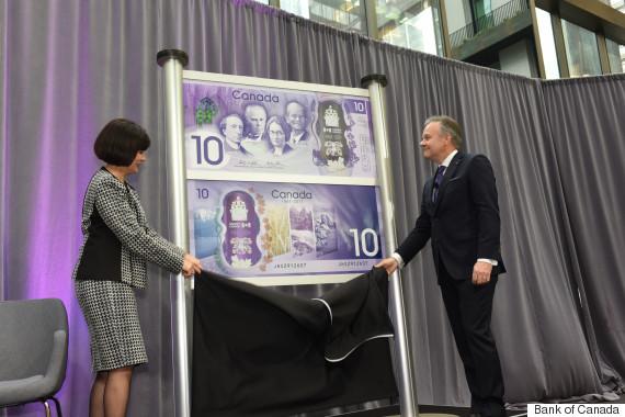 new 10 bill canada