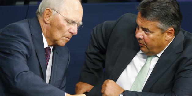 Schäuble und Gabriel zerstreiten sich über Euro-Reformen