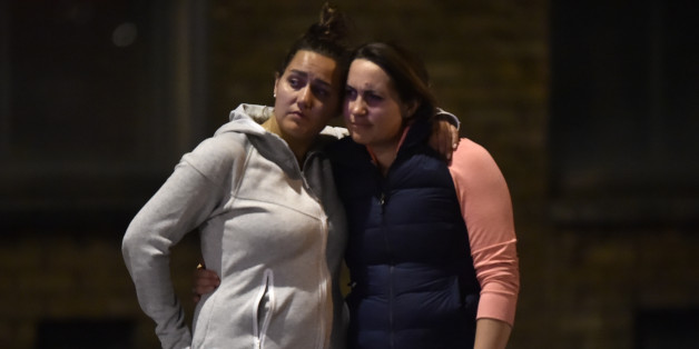 Women embrace after an incident near London Bridge in London, Britain June 4, 2017 REUTERS/Hannah Mckay