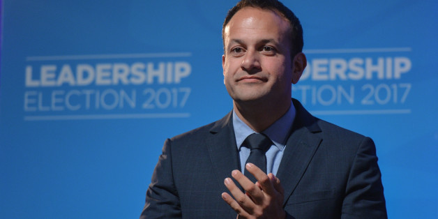 Leo Varadkar at the Mansion House in Dublin where he was elected the new leader of Fine Gael and on course to become Irelands first gay Taoiseach.    Following the formation of a Fine Gael minority government in May 2016, Leo Varadkar was appointed Minister for Social Protection.After the resignation of Enda Kenny as Leader of Fine Gael in May 2017, Varadkar announced his candidacy for party leader. He faced Minister for Housing Simon Coveney in the Fine Gael leadership election. Today, on 2nd o