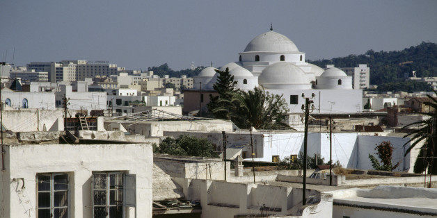 TUNISIA - MAY 09: View of the Tunis medina (Unesco World Heritage List, 1979), Tunis Governorate, Tunisia. (Photo by DeAgostini/Getty Images)