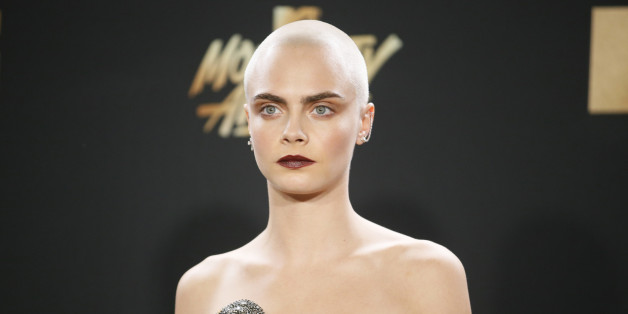 2017 MTV Movie and TV Awards - Arrivals – Los Angeles, U.S., 07/05/2017 – Model Cara Delevingne. REUTERS/Danny Moloshok