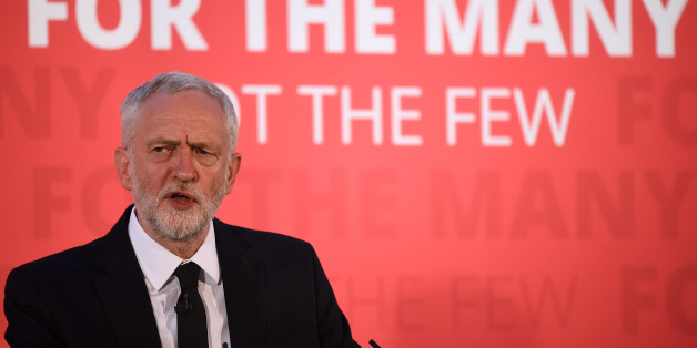 CARLISLE, ENGLAND - JUNE 04:  Labour party leader Jeremy Corbyn gives a speech at the County Hotel on June 4, 2017 in Carlisle, England.  Campaigning for the election was suspended today, following a terror attack in central London on Saturday night. 7 people were killed and at least 48 injured in terror attacks on London Bridge and Borough Market. Three attackers were shot dead by armed police.  (Photo by Jeff J Mitchell/Getty Images)