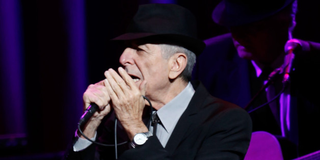 NEW YORK - FEBRUARY 19:  Musician Leonard Cohen performs at the Beacon Theatre February 19, 2009 in New York City.  (Photo by Joe Kohen/WireImage)