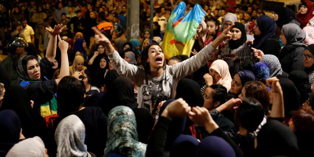 Samedi, les femmes ont organisé une manifestation à Al Hoceima.