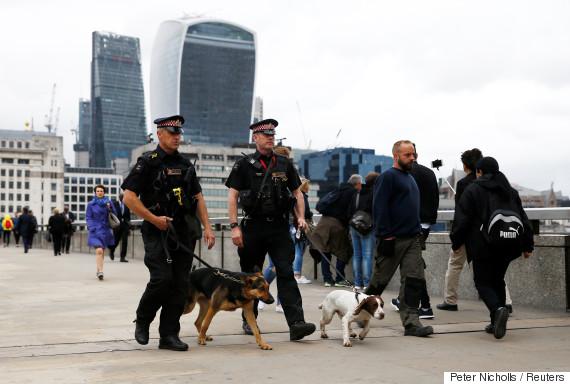 london attack police