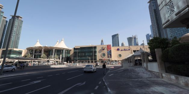 A general view taken on June 5, 2017 shows the city centre in Doha.  Arab nations including Saudi Arabia and Egypt cut ties with Qatar, accusing it of supporting extremism, in the biggest diplomatic crisis to hit the region in years. / AFP PHOTO / STRINGER        (Photo credit should read STRINGER/AFP/Getty Images)