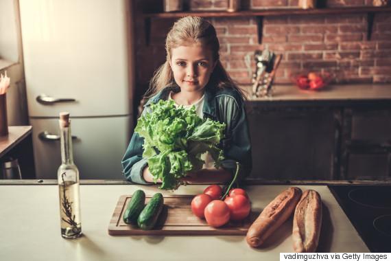 vegetarian kid