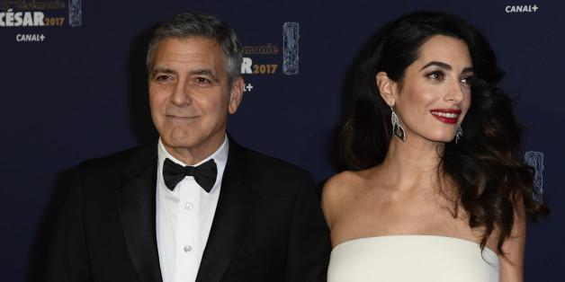 George und Amal Clooney sind nun die Eltern von Alexander und Ella.