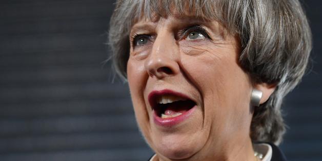 Die britische Premierministerin Theresa May will im Kampf gegen den Terror die Menschenrechte aussetzen.