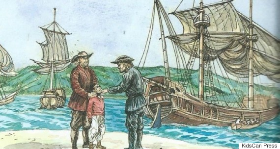 canadian slavery