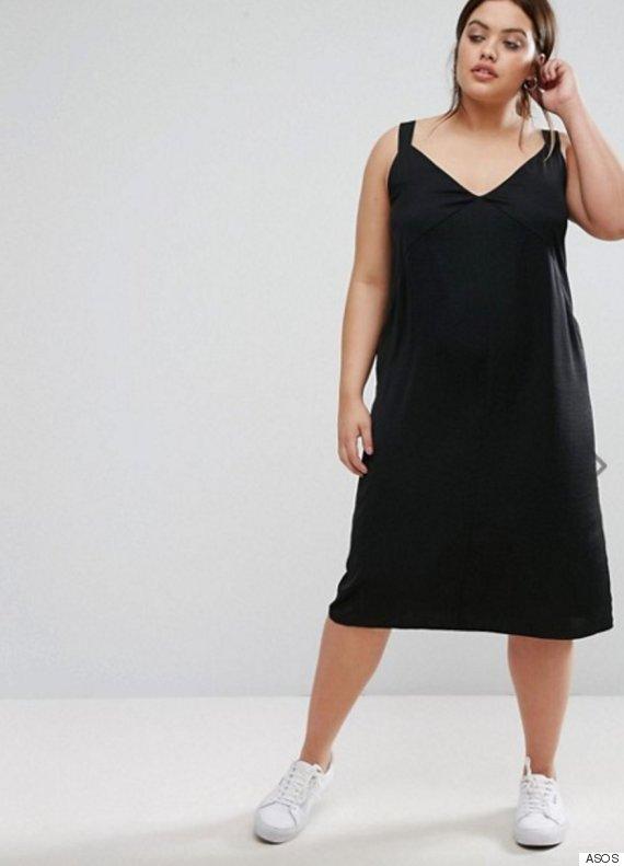 asos slip dress