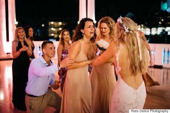 best friend bride proposal