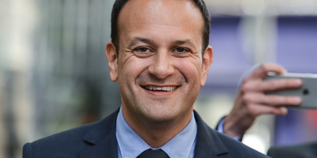 Leo Varadkar on his way to the Mansion House in Dublin, where he was elected the new leader of Fine Gael and on course to become Irelands first gay Taoiseach. Following the formation of a Fine Gael minority government in May 2016, Leo Varadkar was appointed Minister for Social Protection.After the resignation of Enda Kenny as Leader of Fine Gael in May 2017, Varadkar announced his candidacy for party leader. He faced Minister for Housing Simon Coveney in the Fine Gael leadership election. Today,