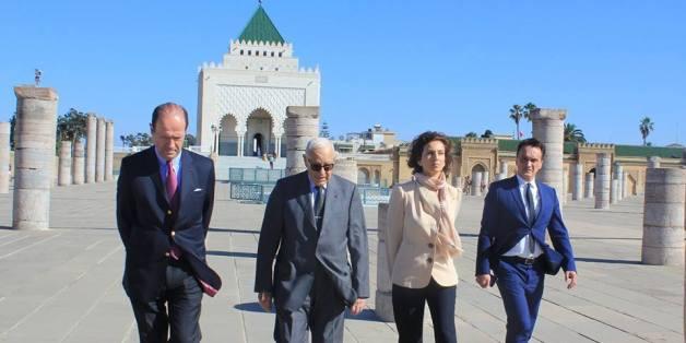 À Rabat, Audrey Azoulay fait campagne pour le poste de directeur général de l'Unesco