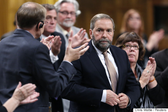 mulcair military