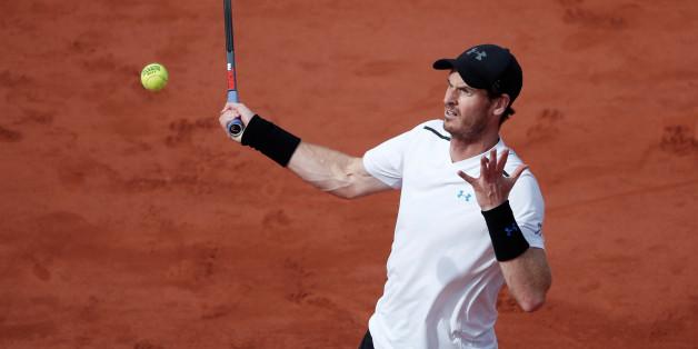 Murray steht im Halbfinale der French Open im Roland Garros