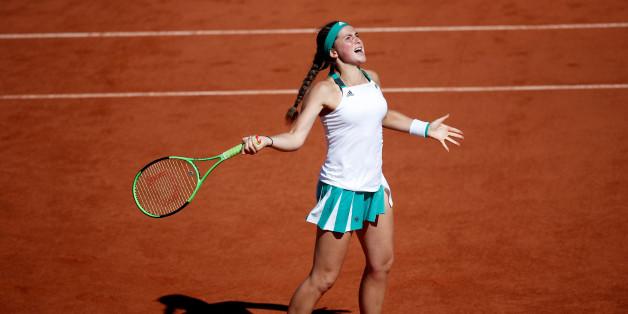 Finale bei den French Open: Jelena Ostapenko trifft im Roland Garros auf Simona Halep