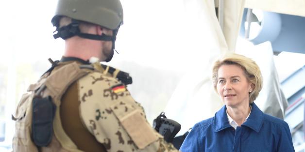 Putsch-Plan aufgeflogen: Bundeswehr-Offizier sprach davon, von der Leyen zu stürzen