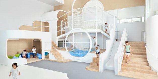 Kindergarten der Träume: Im Kindergarten Nubo in Sydney gibt es unter anderem eine Ballgrube.